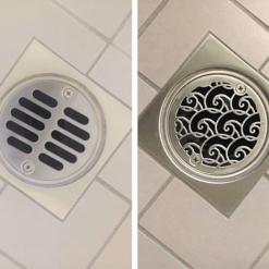 3.375 inch round shower drain