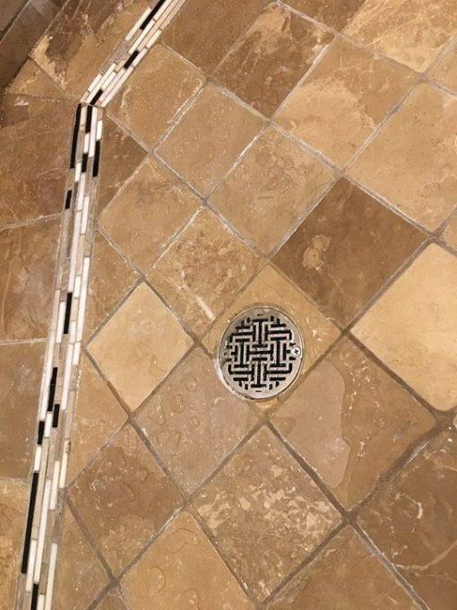 3 25 Round Shower Drain Cover Architecture Sophia