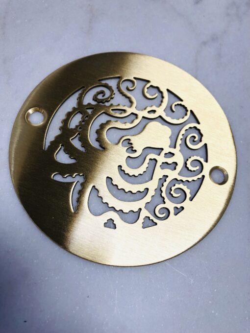 octopus 4.00 inch round shower drain