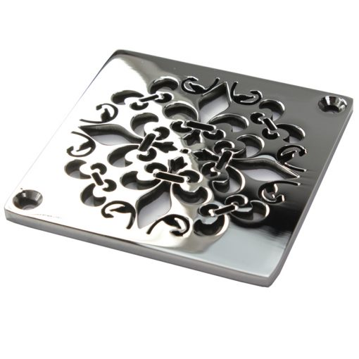 Mon Fleur square shower drain design