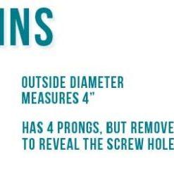 """4"""" Round Drains"""