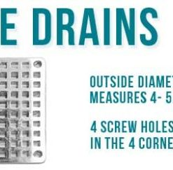 Square Shower Drain replacements
