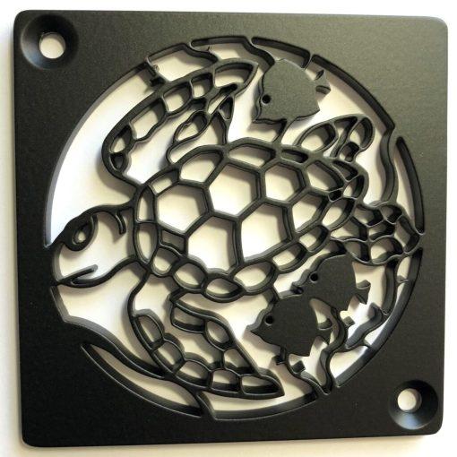 Sea Turtle Square Shower Drain_Designer Drain_Schluter replacement