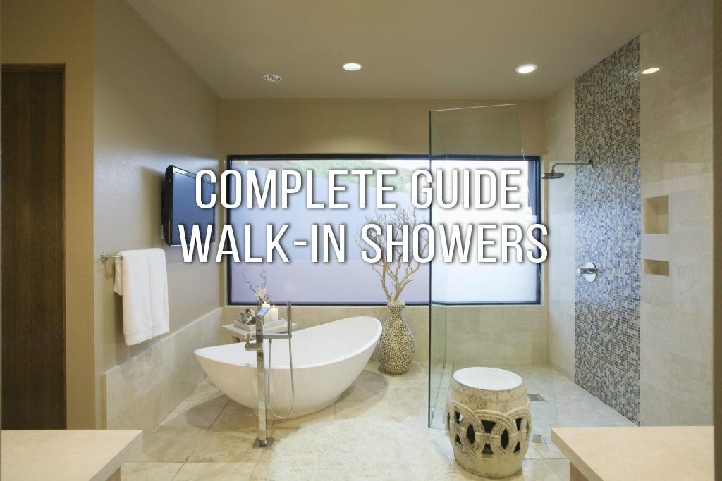 Walk In Shower The Complete Guide Designer Drains