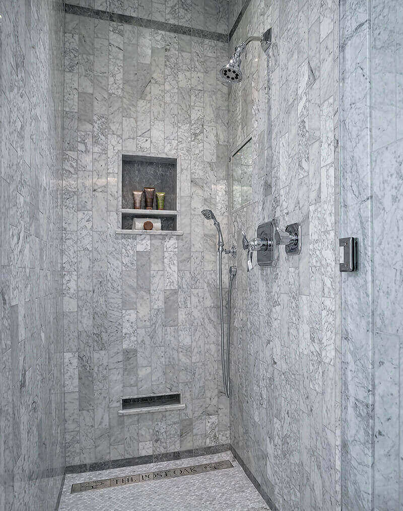 Designer Drains Shower Drain Linear Cover Post Oak Hotel Landrys Hospitality Development Industry