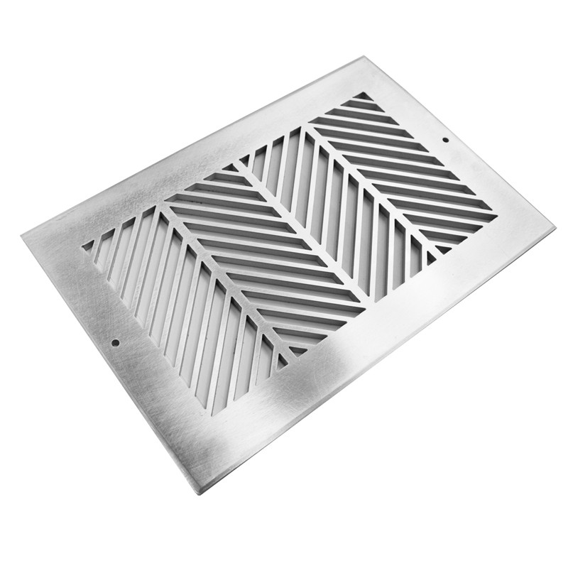 Air Vent, Wheat No. 2, Brushed stainless
