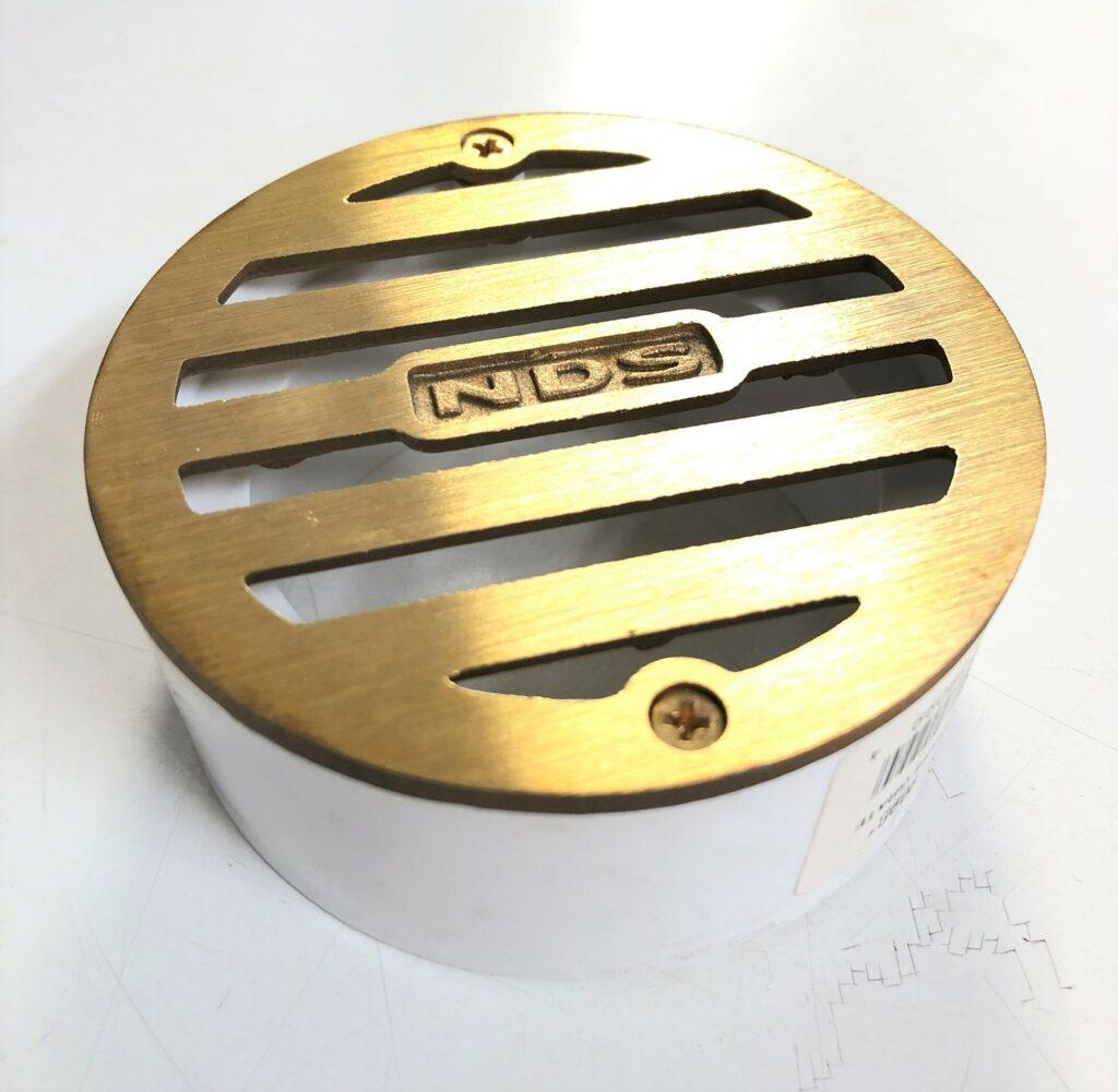 3 inch satin brass grade 909B