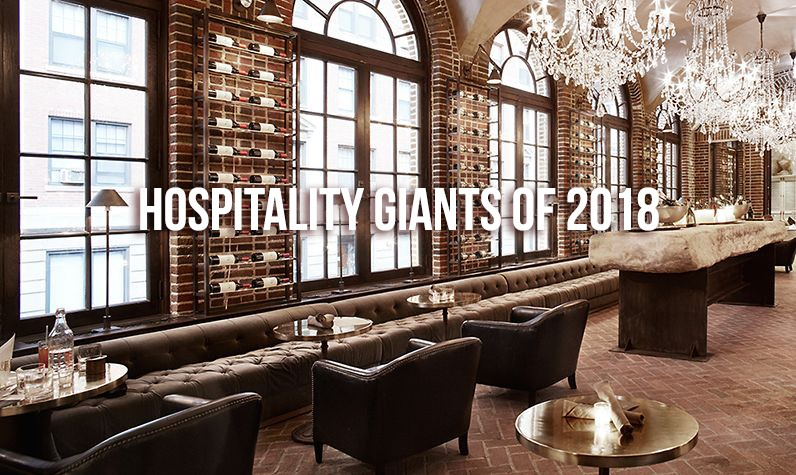 hospitality giants 2017 interior design designer drains