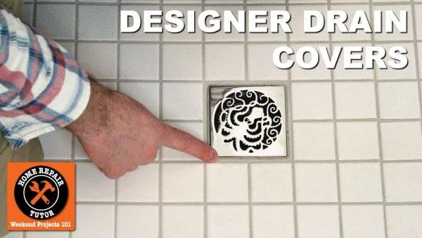 Merveilleux Shower Drain Covers U2013 Add Bling To Custom Showers