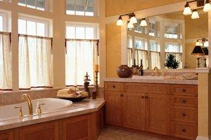 Blog Designer Drains - Small bathroom remodel before and after photos
