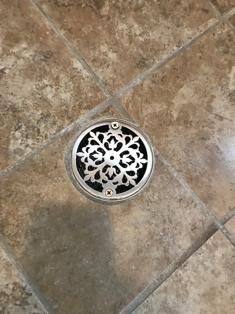 3 25 Round Shower Drain Replacement Cover Classic Motif