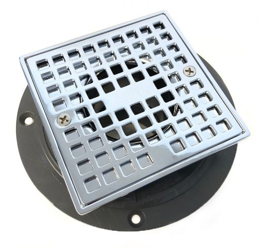 Oatey Square Shower Drain / Strainer #42320 with ABS drain body