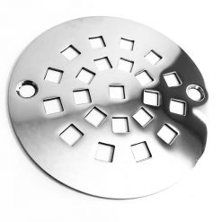 Geometric Stonehenge Stainless Designer Drain Shower Drain