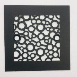 4.25-Square-Shower-Drain-Cover-Bubbles-Matte-Black