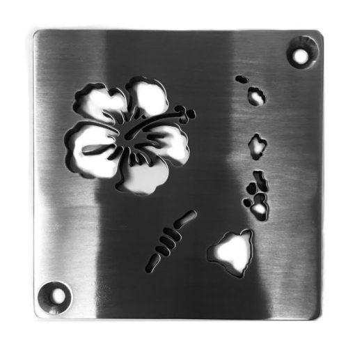 Aloha Square Drain Kerdi-Schluter