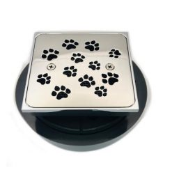 Kohler K-9136 Replacement Shower Kit, Dog Paws, Polished Stainless
